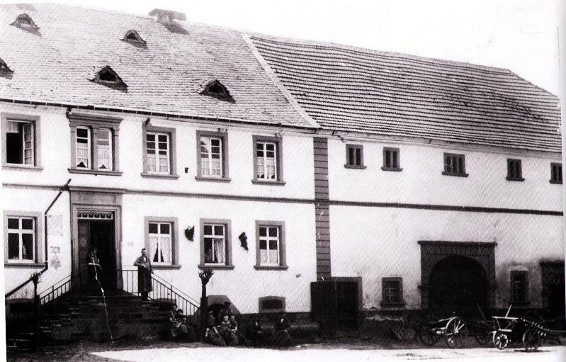 """Vom """"Poschde-Haus"""" zur Bäckerei-Filiale"""