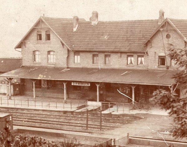 Vom Kommen und Gehen auf dem Dirminger Bahnhof