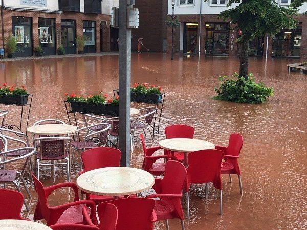 Unwetterkatastrophe in Eppelborn - Hilfe ist dringend erforderlich !