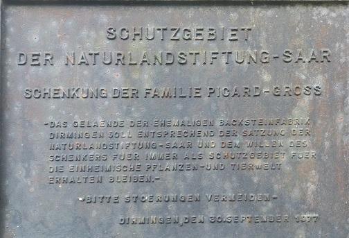 Von der alten Backsteinfabrik zum Naturschutzgebiet - Eine kleine Reise in die Vergangenheit