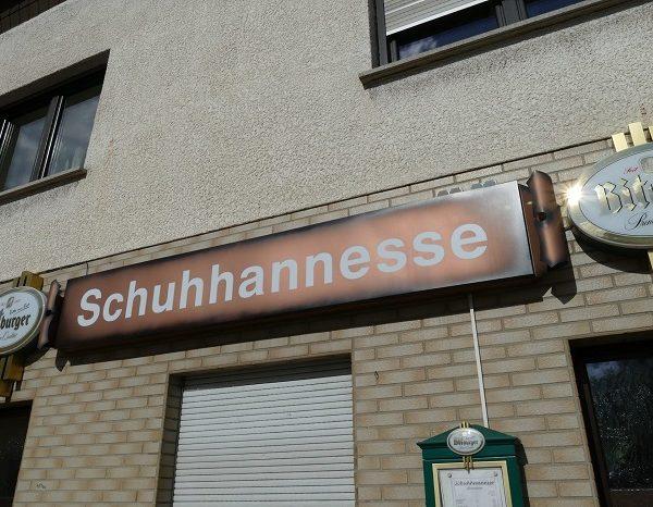 """Vom alteineingessenen Gasthaus """"Schuhannesse"""" im Herzen von Dirmingen"""