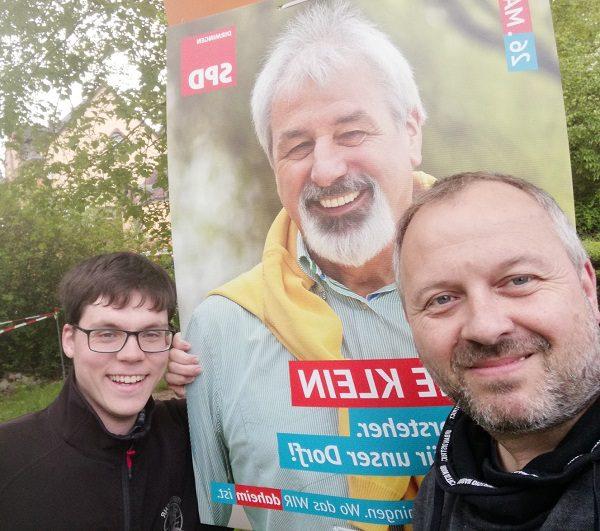 """Meine Gedanken zum """"Wahlplakaten-Wald"""""""