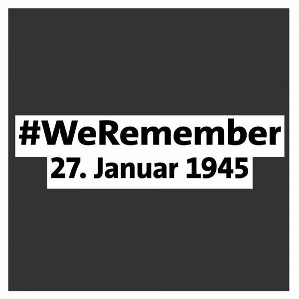#WeRemember - 75. Jahre nach Ausschwitz- Judenverfolgung auch bei uns Dehemm
